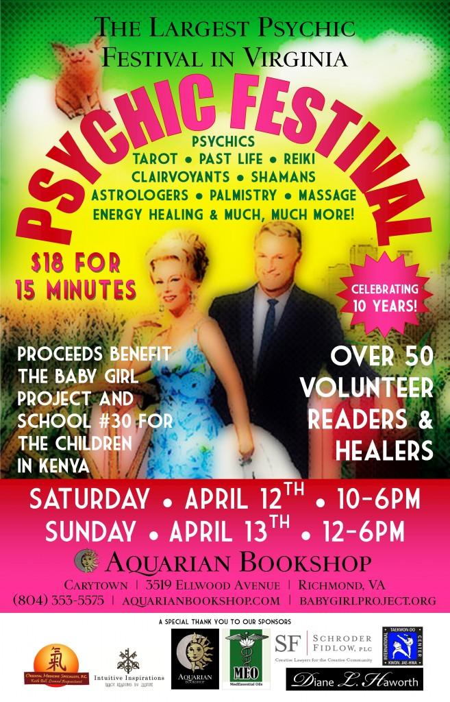 Psychic Festival - April 2014
