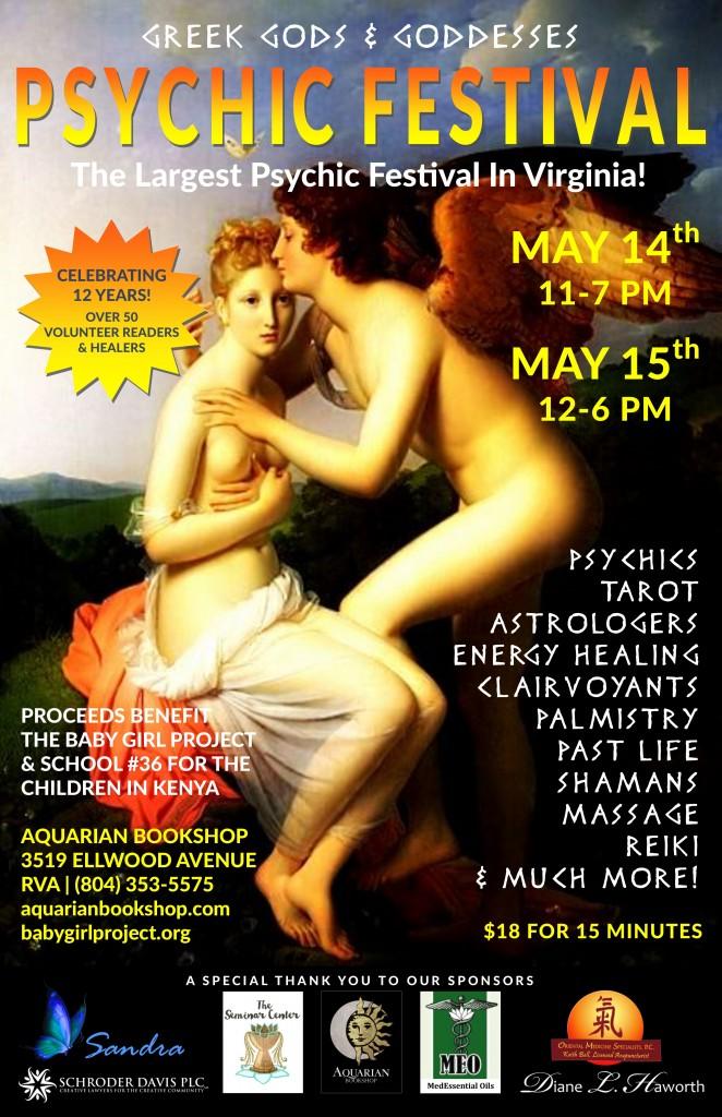 May 2016 Greek Gods & Goddesses