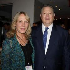 Susan Hughes meets Al Gore