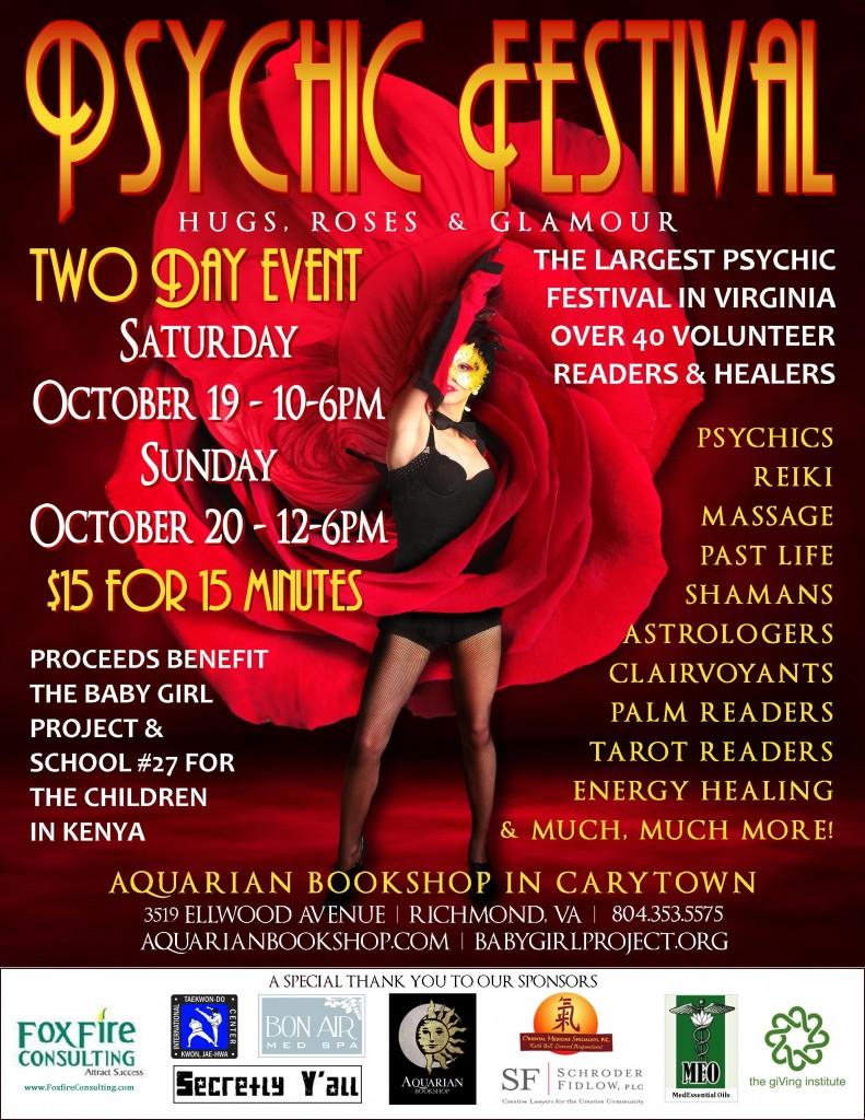 October 2013 Psychic Festival